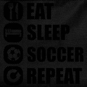 eat_sleep_soccer_repeat T-shirts - Ryggsäck för barn