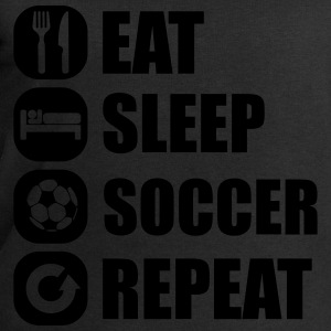 eat_sleep_soccer_repeat Tops - Sudadera hombre de Stanley & Stella