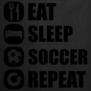 eat_sleep_soccer_repeat Topit - Esiliina
