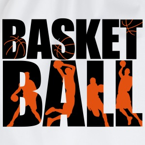 basketball 4_2c T-shirts - Gymnastikpåse