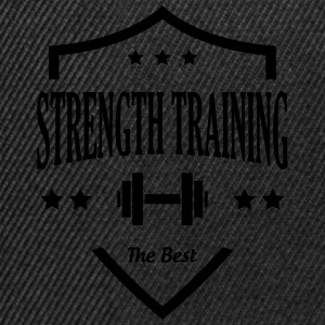 Strength Training - Bodybuilding Fitness  Muscle Tee shirts - Casquette snapback
