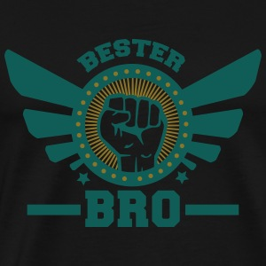 bro 2_2c Hoodies & Sweatshirts - Men's Premium T-Shirt
