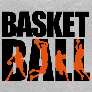 basketball 3_2c Manga larga - Camiseta bebé