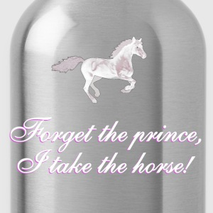 Forget the prince - BlackShirtEdition T-Shirts - Water Bottle