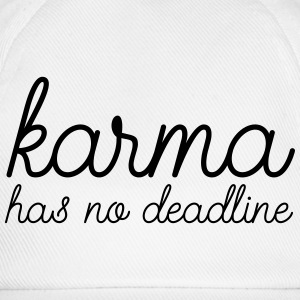 Karma Has No Deadline Tank Tops - Baseball Cap