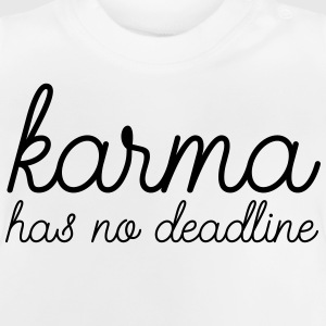 Karma Has No Deadline Manga larga - Camiseta bebé