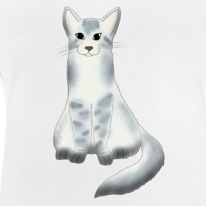 Large grey cat Tee shirts - T-shirt Bébé