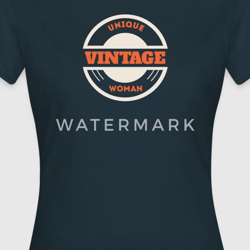 Unique vintage woman T-Shirts - Women's T-Shirt