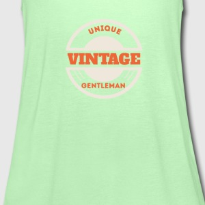Unique vintage gentleman T-shirts - Vrouwen tank top van Bella