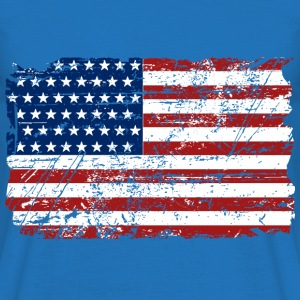 USA Flag - Vintage Look Gensere - T-skjorte for menn