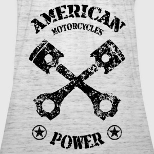 american motorcycles power 01 Sweat-shirts - Débardeur Femme marque Bella