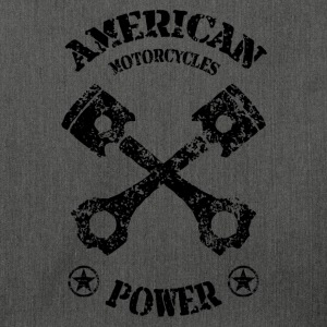 american motorcycles power 01 Sweat-shirts - Sac bandoulière 100 % recyclé