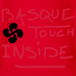 Basque touch inside 5 Tee shirts - Body bébé bio manches courtes