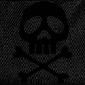 Skull and crossbones, pirate, anime, space captain Tee shirts - Sac à dos Enfant