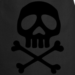 Skull and crossbones, pirate, anime, space captain T-Shirts - Cooking Apron