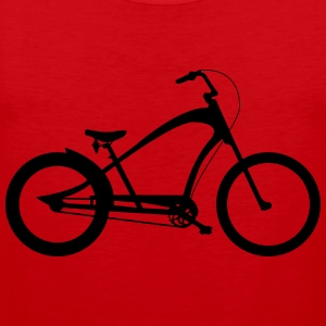 Chopper fiets T-shirts - Mannen Premium tank top