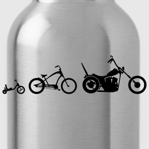 Chopper Bike Evolution T-shirts - Drinkfles