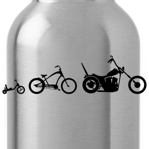 Chopper Bike Evolution T-Shirts - Water Bottle
