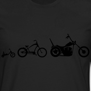 Chopper Bike Evolution Shirt - Männer Premium Langarmshirt