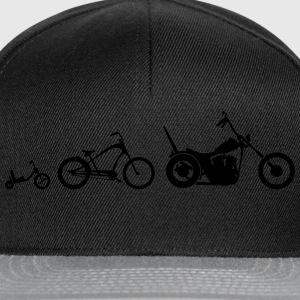 Chopper Bike Evolution T-Shirts - Snapback Cap