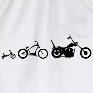 Chopper Bike Evolution Shirt - Turnbeutel
