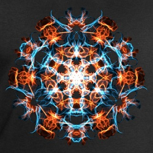 Power Symbol, Fractal, Energy, Hero, Superhero T-shirts - Mannen sweatshirt van Stanley & Stella