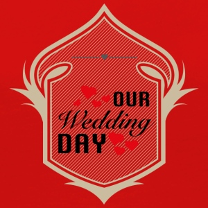 OUR Wedding DAY T-Shirts - Frauen Premium Langarmshirt