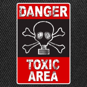Danger toxic area 02 Tee shirts - Casquette snapback