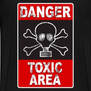 Danger toxic area 02 Sweat-shirts - T-shirt Premium Homme