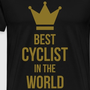 Cycling / Cyclist / Bicycle / Bike / Cyclisme  Aprons - Men's Premium T-Shirt