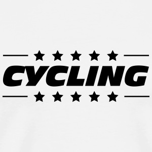 Cycling / Cyclist / Bicycle / Bike / Cyclisme Mugs & Drinkware - Men's Premium T-Shirt