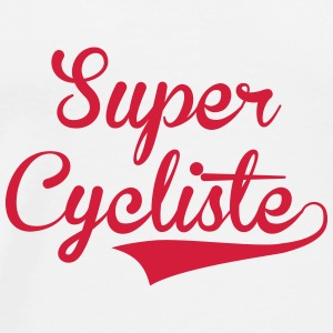 Cycliste / Cyclisme / Vélo / Cross / VTT / BMX Mugs & Drinkware - Men's Premium T-Shirt