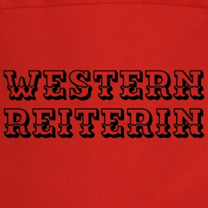 Westernreiterin Shirts - Cooking Apron