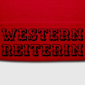 Westernreiterin Shirts - Winter Hat