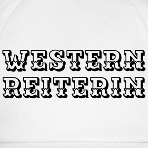 Westernreiterin Long Sleeve Shirts - Baseball Cap