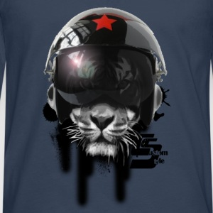 Russian Tiger by CustomStyle - T-shirt manches longues Premium Homme