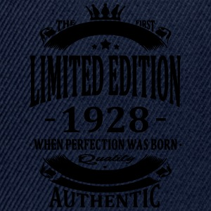Limited Edition 1928 Tee shirts - Casquette snapback