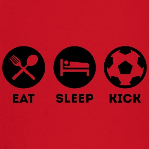EAT SLEEP KICK FUSSBALL SOCCER T-Shirts - Baby Langarmshirt