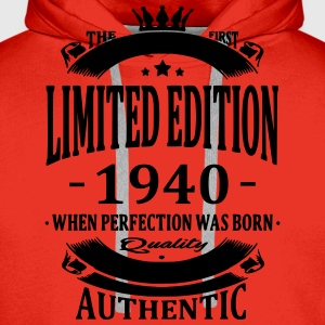Limited Edition 1940 T-Shirts - Men's Premium Hoodie