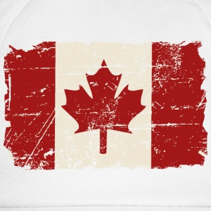 Canada Flag - Vintage Look Tee shirts - Casquette classique