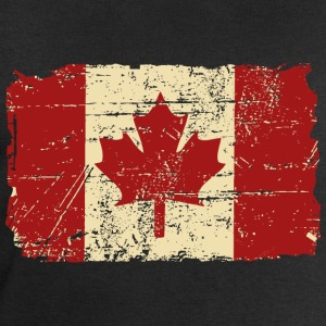 Canada Flag - Vintage Look T-Shirts - Men's Sweatshirt by Stanley & Stella