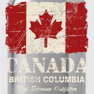 Canada Flag - Vintage Look Tee shirts - Gourde