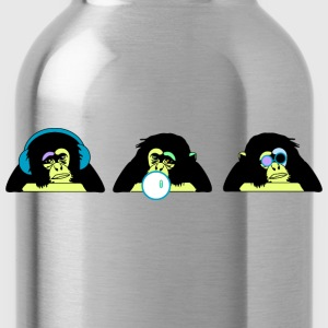 three monkeys T-Shirts - Water Bottle
