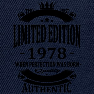 Limited Edition 1978 T-shirts - Snapback cap
