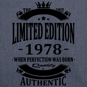 Limited Edition 1978 T-shirts - Schoudertas van gerecycled materiaal