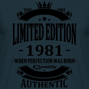Limited Edition 1981 Sweat-shirts - T-shirt Homme