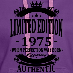Limited Edition 1975 T-shirts - Vrouwen Premium hoodie