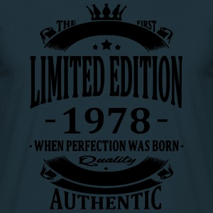 Limited Edition 1978 Hoodies & Sweatshirts - Men's T-Shirt
