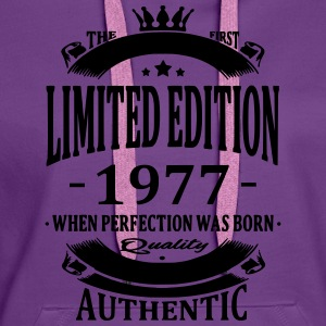 Limited Edition 1977 T-Shirts - Women's Premium Hoodie