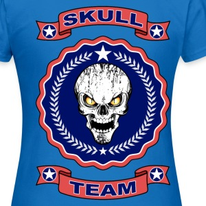 skull team 01 Sweat-shirts - T-shirt Femme